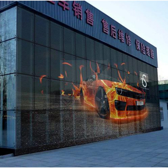 P7.81-7.81 Transparent LED Screen